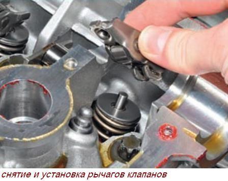 Установка головки блока цилиндров на двигатель cat C15.