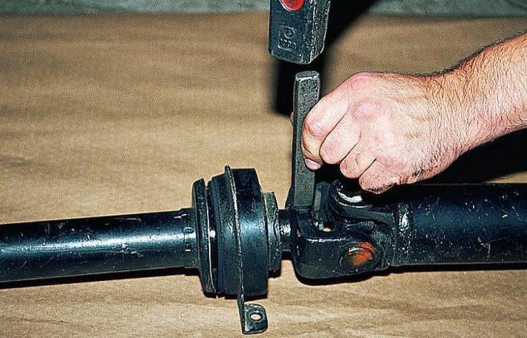 Ремонт кардана газели своими руками 23